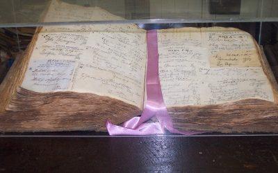 Vintage Pharmacy Book Display Exhibit