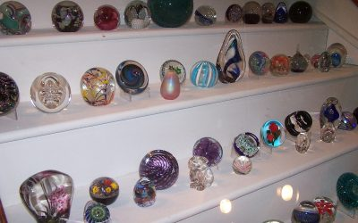 Glass Paperweight Collection Exhibit