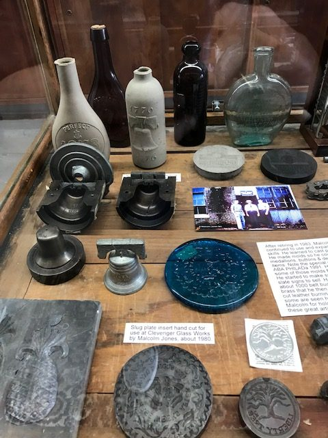 Malcolm Jones Exhibit at The National Bottle Museum
