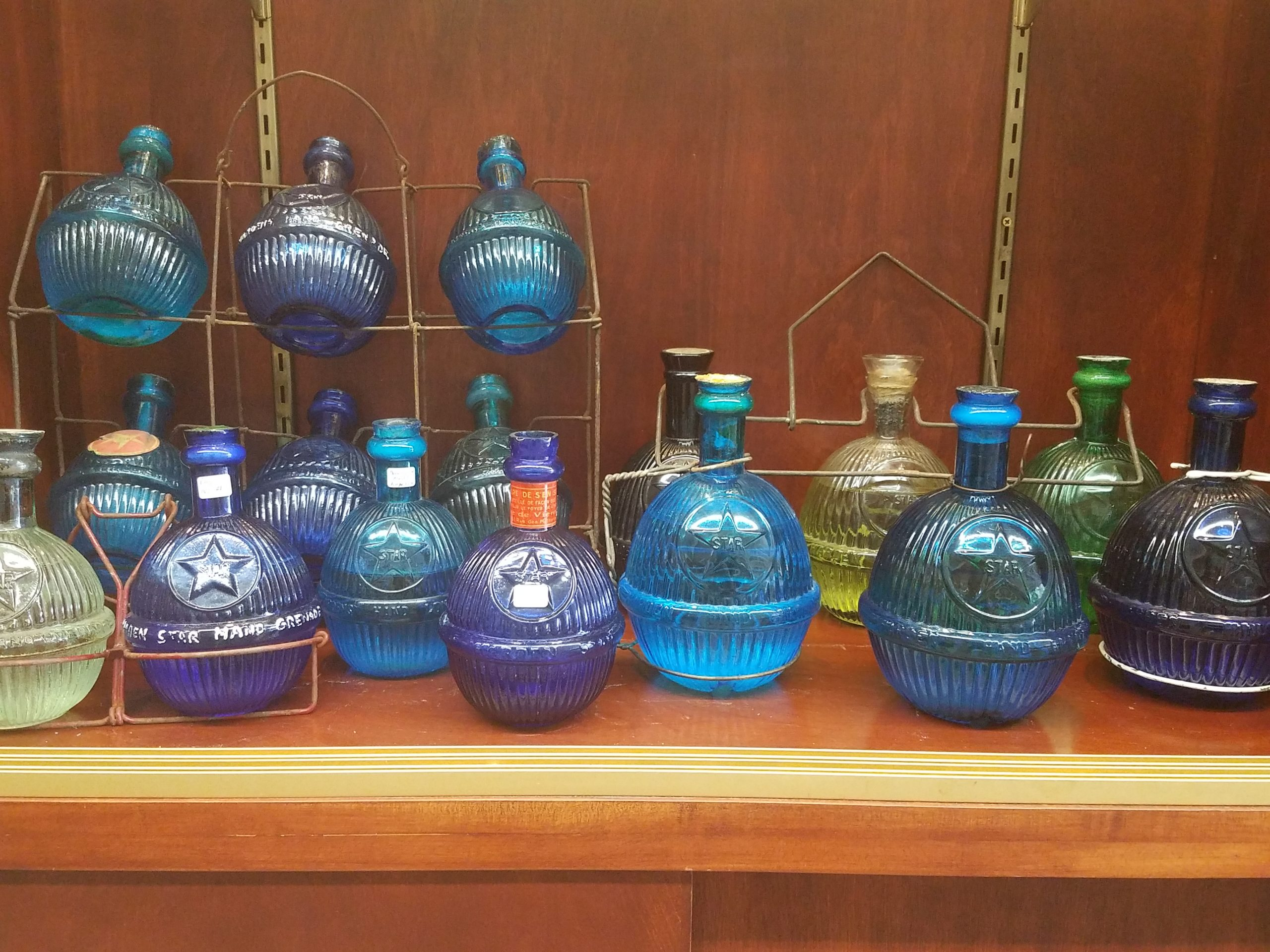 Fire Extinguisher Exhibit at The National Bottle Museum